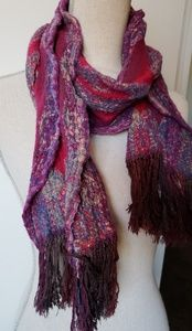 Lucky brand berry scarf